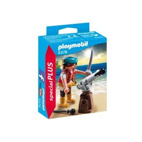 Playmobil - Pirat z armatą 5378