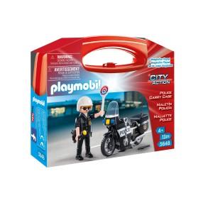 Playmobil - Skrzyneczka Policja 5648