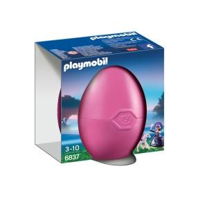 Playmobil - Zestaw jajko z niespodzianką Królowa blasku księżyca z małym pegazem 6837