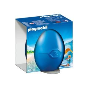 Playmobil - Zestaw jajko z niespodzianką Kitesurfer 6838