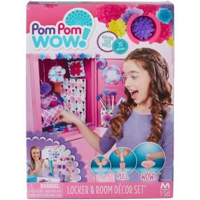 Pom Pom Wow - Zestaw dekoratora 70 pomponów + akcesoria 48538