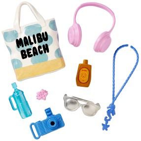 Barbie Fashionistas - Modne akcesoria Beach Days DWD69