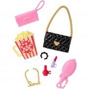 Barbie Fashionistas - Modne akcesoria Movie Night DWD71