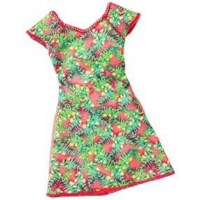 Barbie Fashionistas - Modne sukienki Garden Party DWG07