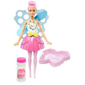 Barbie - Bąbelkowa wróżka Jasnoróżowa DVM95