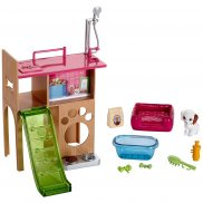 Barbie - Mebelki i akcesoria Kącik Pieska DVX50