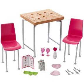 Barbie - Mebelki i akcesoria Jadalnia DVX45