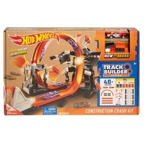 Hot Wheels Track Builder - Szalone kraksy – Zestaw torów DWW96