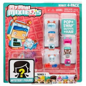 My Mini Mixieq's - Figurki 4-pak Robot DWR15
