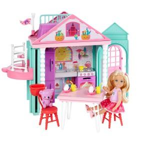 Barbie - Domek zabaw Chelsea z lalka DWJ50