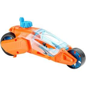 Hot Wheels - Autonakręciaki Motocykl Twisted Cycle Pomarańczowy DPB68