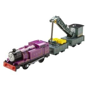 Fisher-Price Track Master - Pociąg z napędem Ryan i Jerome DVF85