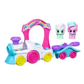 Hasbro Playskool - My Little Pony Pociąg Pinkie Pie B9032