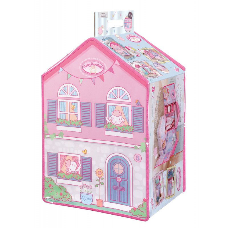 baby annabell sypialnia dla lalki 794425 kraina zabawy. Black Bedroom Furniture Sets. Home Design Ideas