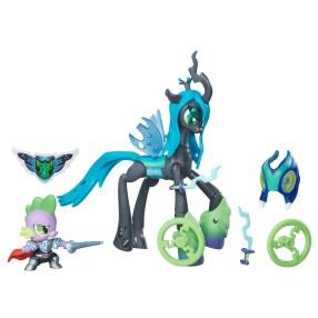 My Little Pony GOH - Pogromcy Smok Spike i Królowa Crisalis B7298