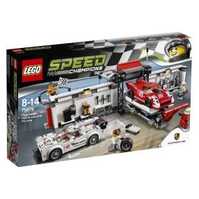 LEGO Speed Champions - Porsche 919 Hybrid i 917K Pit Stop 75876
