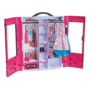 Barbie Fashionistas - Garderoba walizeczka z akcesoriami DMT57