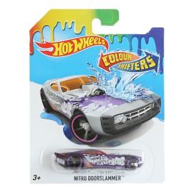 Hot Wheels - Autokolorowańce Auto Zmieniające Kolor Nitro Doorslammer CFM30