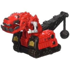 DinoTrux - Pojazd Ty Rux Czerwony CJW81