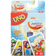 Mattel - Karty Gra UNO DC Super Hero Girls FDJ16