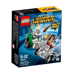 LEGO Super Heroes - Mighty Micros: Wonder Woman kontra Doomsday 76070