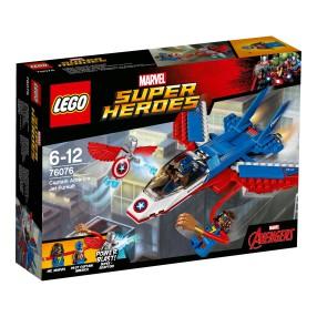 LEGO Super Heroes - Odrzutowiec Kapitana Ameryki 76076