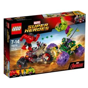 LEGO Super Heroes - Hulk kontra Czerwony Hulk 76078