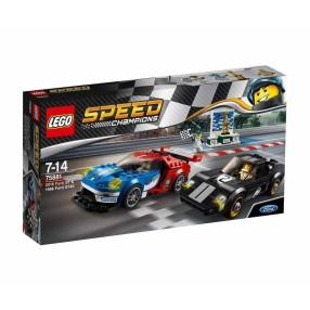 LEGO Speed Champions - Ford GT z roku 2016 i Ford GT40 z roku 1966 75881