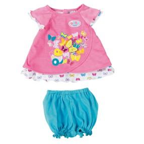 BABY born - Różowe Ubranko z Motylkiem dla lalki 823552 A