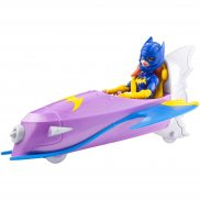 Mattel DC Super Hero Girls - Batgirl z Batodrzutowcem DVG74