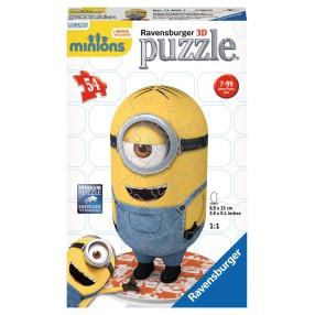 Ravensburger - Puzzle 3D Minionki Stuart 114023
