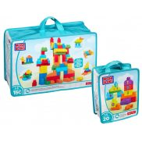 Mega Bloks First Builders - MEGA ECO torba z klockami Deluxe 150szt. CNM43