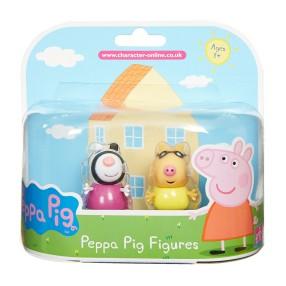 TM Toys Świnka Peppa - Figurki Przyjaciele dwupak Pedro i Zoe 05319 A