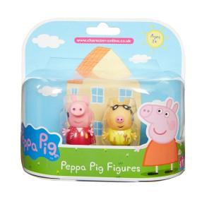 TM Toys Świnka Peppa - Figurki Przyjaciele dwupak Peppa i Pedro 05319 E