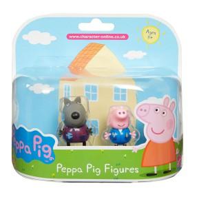 TM Toys Świnka Peppa - Figurki Przyjaciele dwupak Danny i George 05319 C