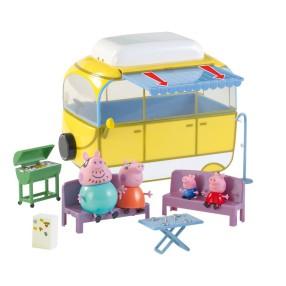 TM Toys Świnka Peppa - Kamper z akcesoriami i 4 figurki 05332