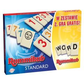 Rummikub Standard i Słowny 2w1 8604