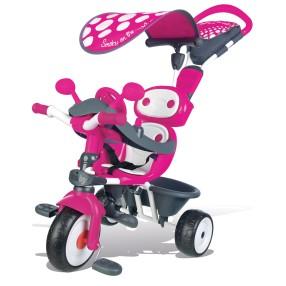 Smoby - Rowerek Baby Driver Comfort Mixte Różowy 740600