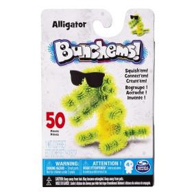 Bunchems kolorowe rzepy - Kumple Aligator 50 ele. 16812 20082561