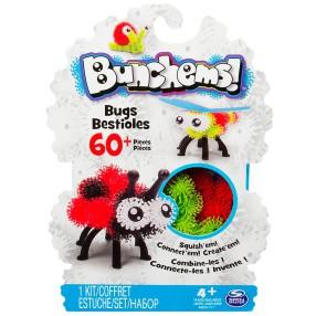 Bunchems kolorowe rzepy - Zestaw owady 60 ele. + akcesoria 20069721