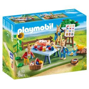 Playmobil - Warsztat zajączków wielkanocnych 6863
