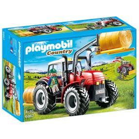 Playmobil - Duży traktor z wyposażeniem 6867