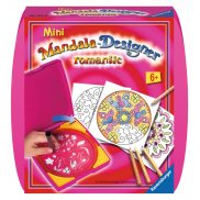 Ravensburger - Mini Mandala Zestaw do rysowania Romantic 297528