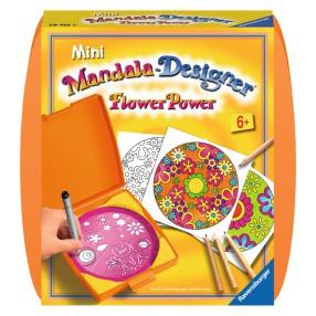 Ravensburger - Mini Mandala Zestaw do rysowania Kwiaty 297535