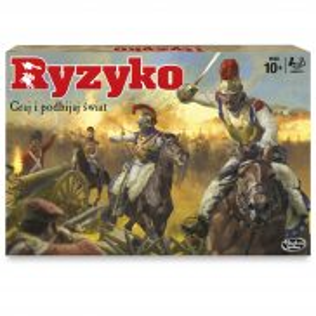 Hasbro - Gra Ryzyko wersja PL B7404