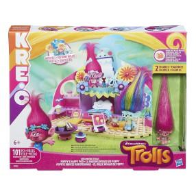 Hasbro Kre-O Trolle - Szczęśliwy domek Poppy B9526