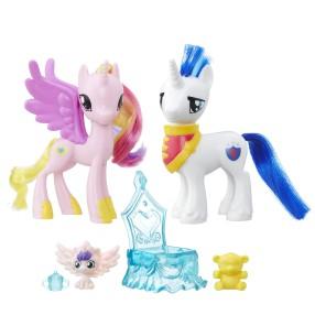 My Little Pony Explore Equestria - Zestaw przyjaciółek Księżniczka Cadance i Shining Armor B9848