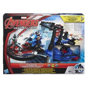 Hasbro Avengers - Zestaw Captain America Tower B1665