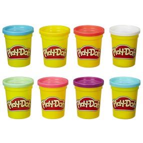 Play-Doh - Ciastolina Tuby 4 + 4 B6753