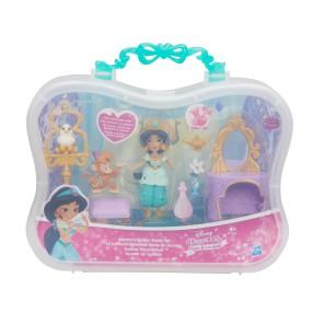 Hasbro Disney Princess - Zestaw Złota toaletka i lalka Jasmina B7164